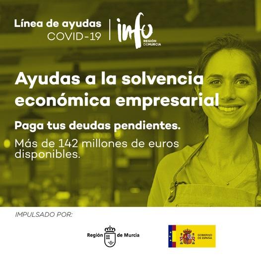 Ayudas a la Solvencia Empresarial de la Región de Murcia en Respuesta a la Pandemia