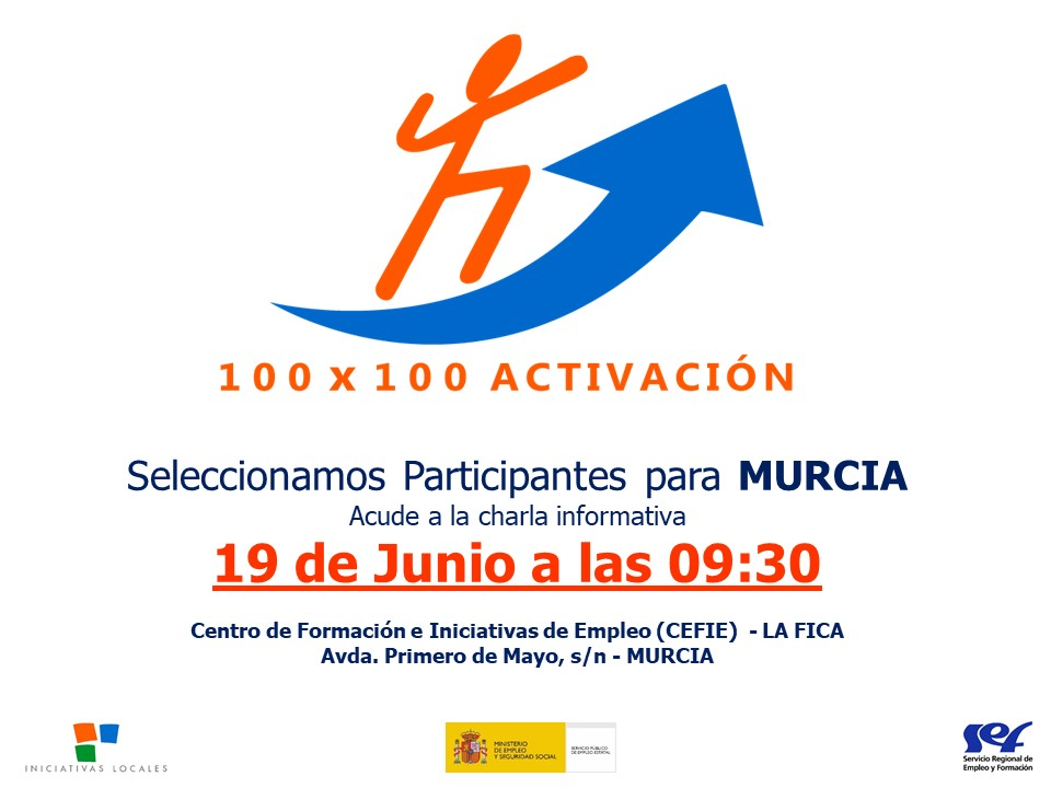 CHARLA INFORMATIVA PROGRAMA 100 X 100 ACTÍVATE...