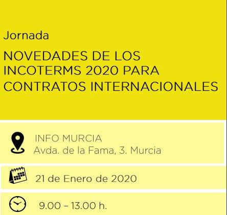 JORNADA NOVEDADES DE LOS INCOTERMS 2020 PARA CONTRATOS INTERNACIONALES...