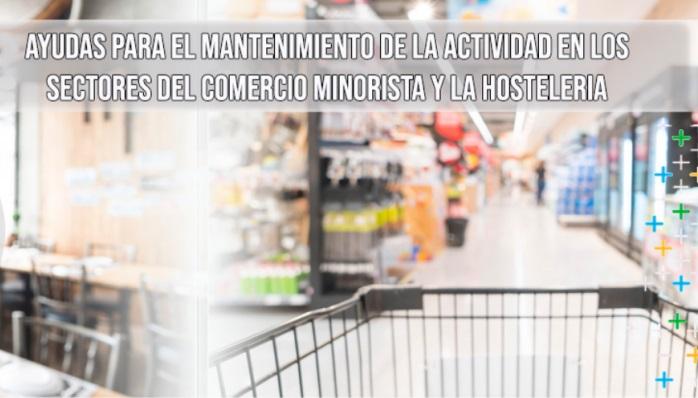 Ayudas al mantenimiento de la actividad comercial y otras actividades no esenciales...
