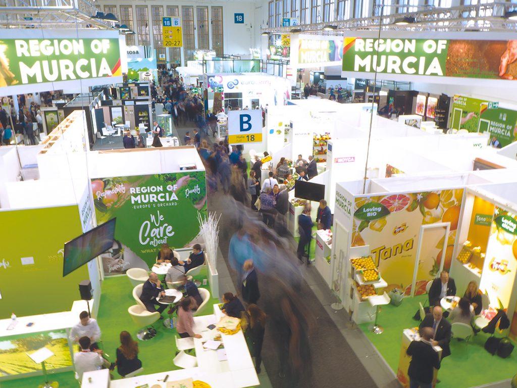 Próxima edición de la Feria FRUIT LOGÍSTICA 2022...