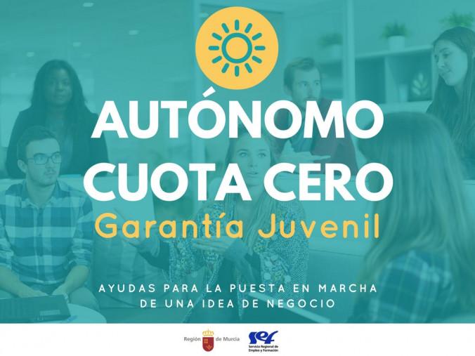 SUBVENCIONES DE FOMENTO DEL AUTOEMPLEO -CUOTA CERO. PERSONAS JÓVENES BENEFICIARIAS DE GARANTÍA JUVENIL