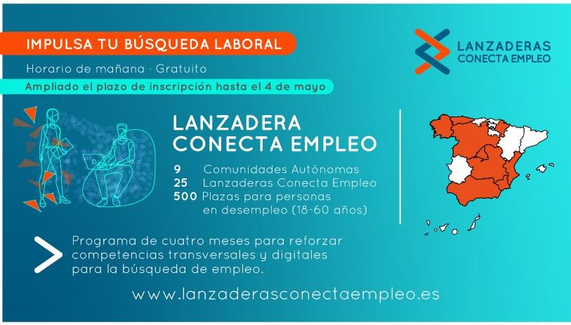 LANZADERA CONECTA EMPLEO - Nuevo inicio: finales de mayo -...