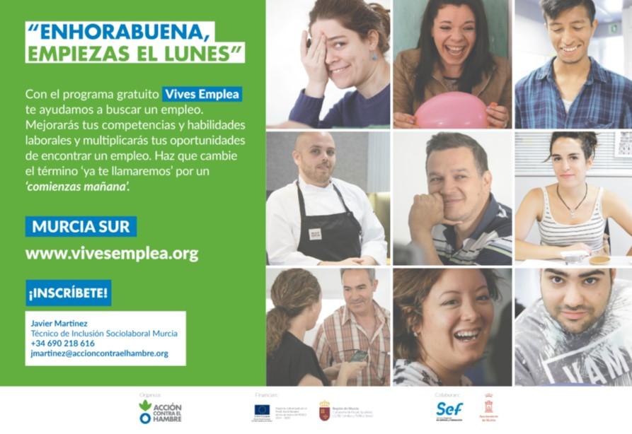 2ª EDICIÓN 2020. VIVES EMPLEA Y ESCUELA DE EMPLEO....