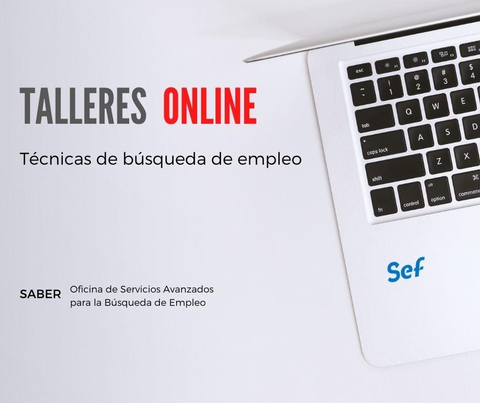 El SEF oferta en abril 39 talleres gratuitos online para mejorar la búsqueda de empleo
