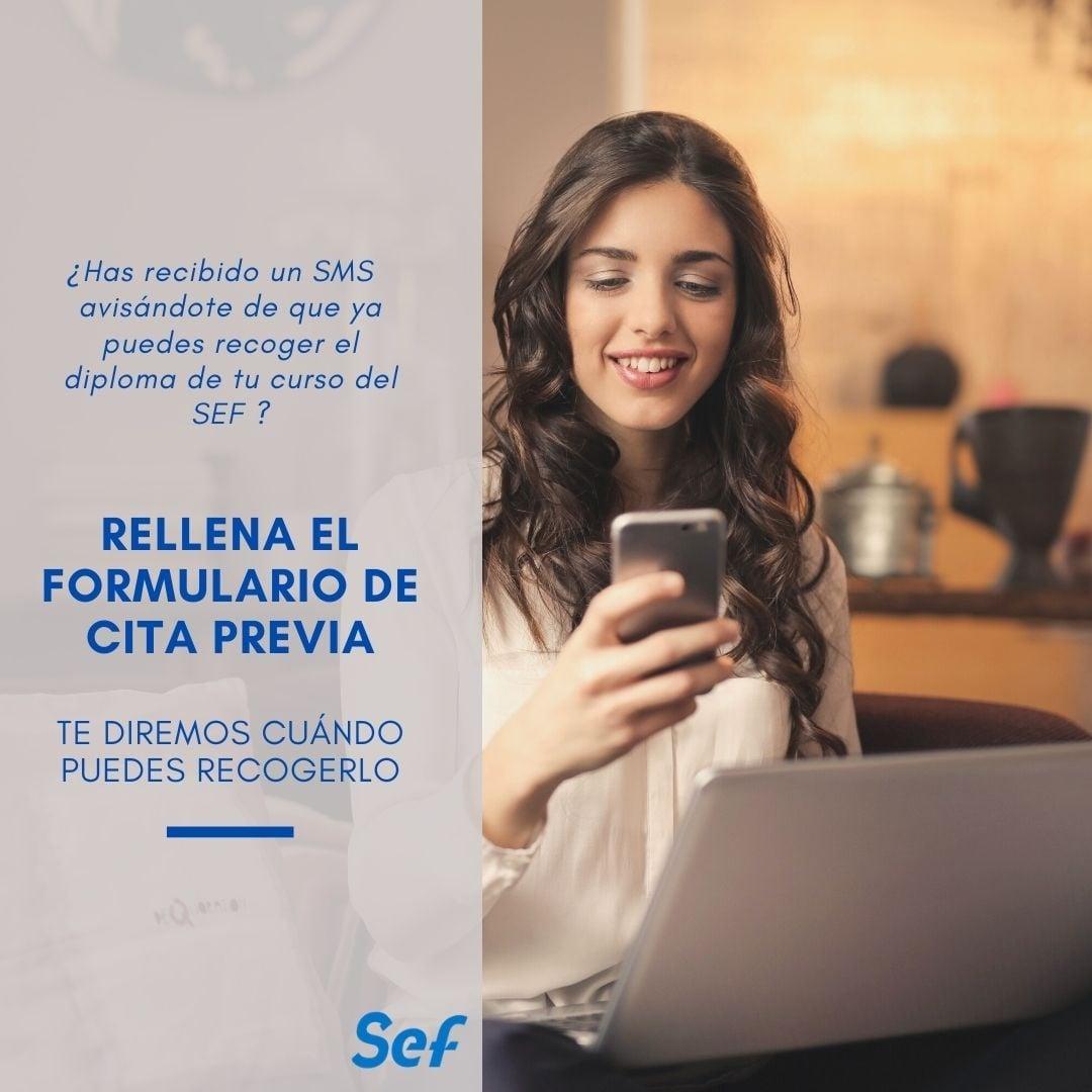 Acreditación de cursos de Formación Profesional para el Empleo realizados con el SEF