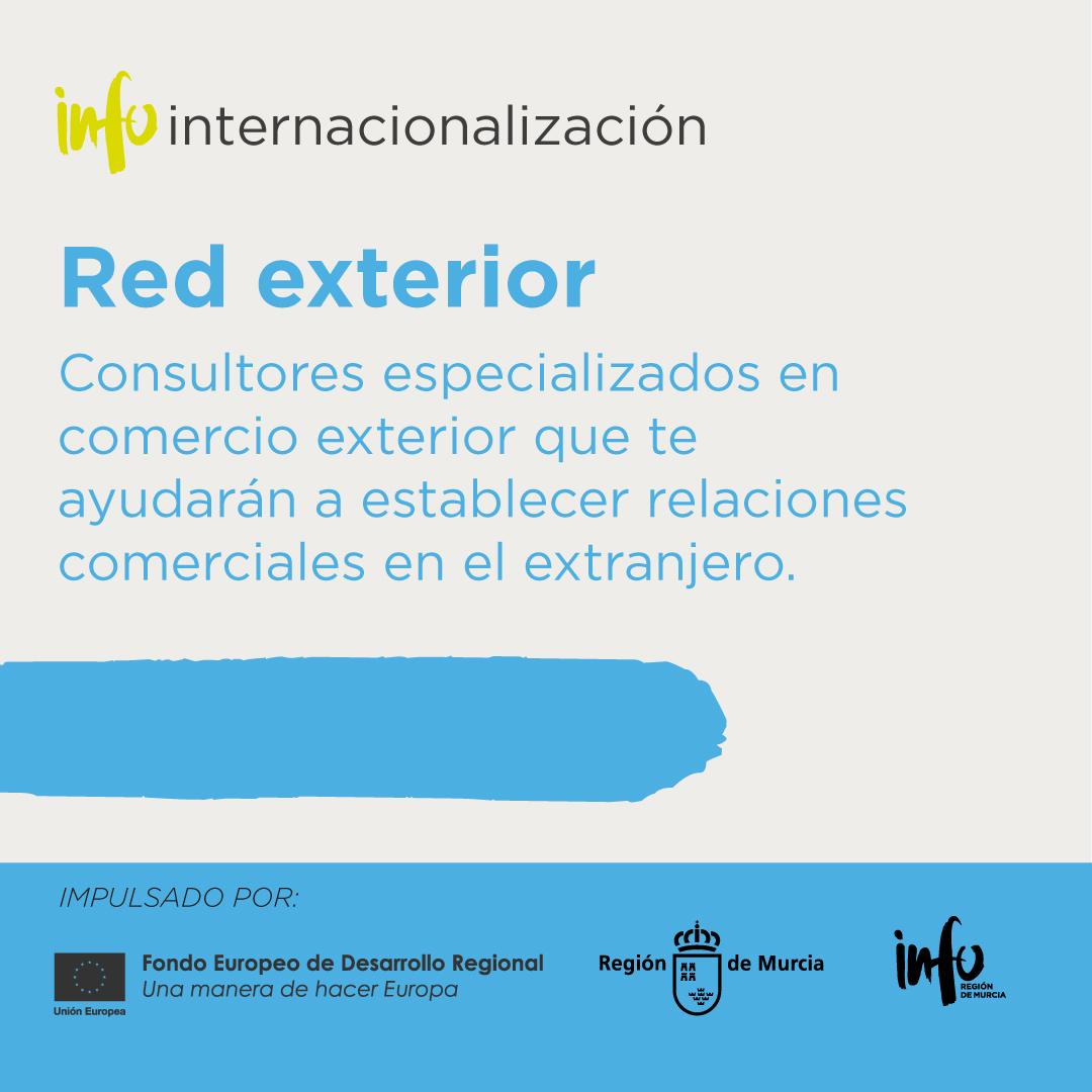 Red Exterior del Servicio INFOinternacionalización
