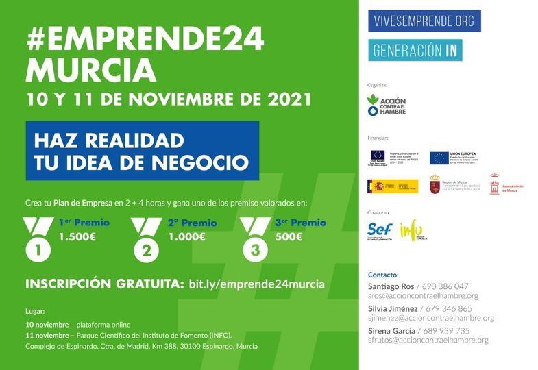 Vuelve a Murcia Emprende24