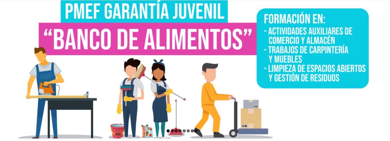 """ANUNCIO PUBLICACIÓN: CALIFICACIONES DEFINITIVAS DE CONCURSO-OPOSICIÓN PARA LA SELECCIÓN Y POSTERIOR CONTRATACIÓN EN FORMACIÓN DE ALUMNADO-TRABAJADOR PARA EL DESARROLLO DE PROYECTOS PMEF-GJ """"BANCO DE ALIMENTOS"""""""