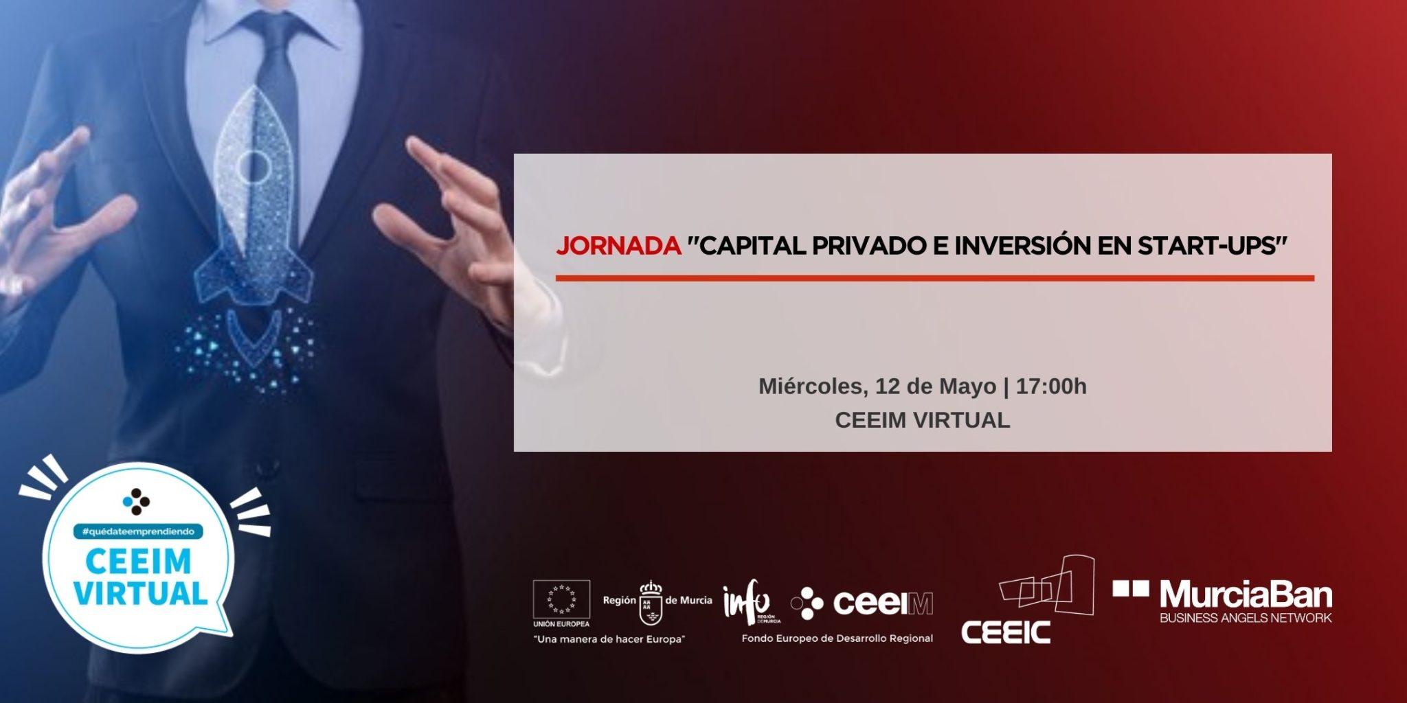 """Seminario formativo virtual: """"CAPITAL PRIVADO E INVERSIÓN EN START-UPS"""""""