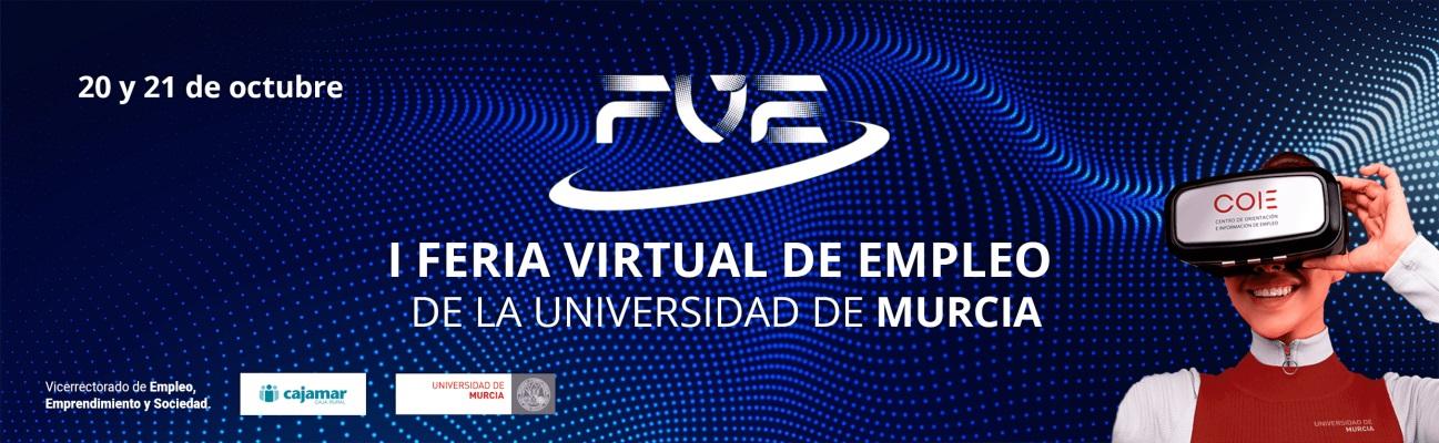 1ª Feria Virtual de Empleo de la Universidad de Murcia