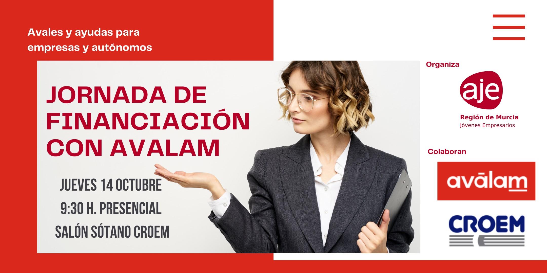 JORNADA DE FINANCIACIÓN CON AVALAM