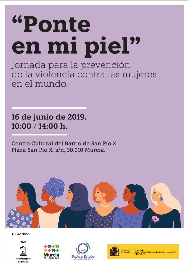 JORNADA CONTRA LA PREVENCIÓN DE VIOLENCIA CONTRA LAS MUJERES