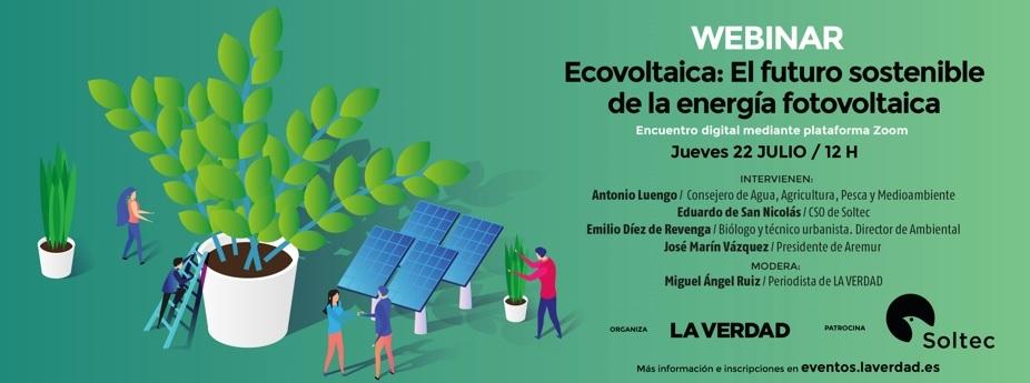 WEBINAR: Ecovoltaica: el futuro sostenible de la energía fotovoltaica